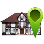 Rathaus mit grünem Pin©Stadt Barsinghausen